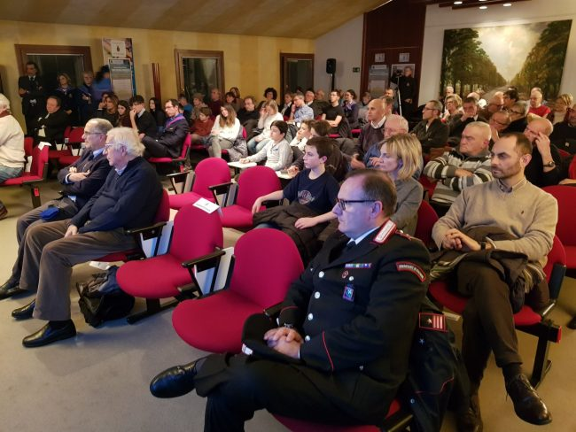 Mario Giuliacci ospite della quinta conferenza aerospaziale FOTO VIDEO