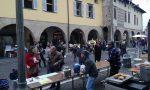 Il centro trasformato in un grande villaggio natalizio per i mercatini di Natale FOTO