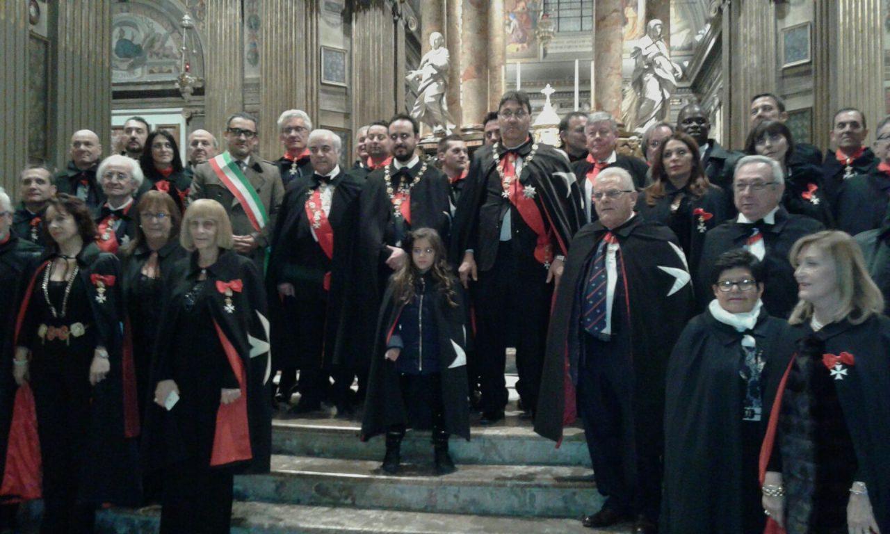 Caravaggio Ordine di Malta ordinazioni al Santuario