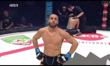 Il fighter Iovine vince in Europa