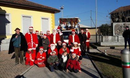 L'Amministrazione si veste da Babbo Natale