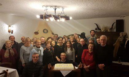 Famiglia Bonadeo riunita per la festa dell'Immacolata concezione