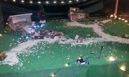 Presepe vandalizzato il giorno di Natale
