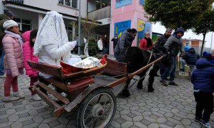 Santa Lucia arriva a Verdellino FOTO