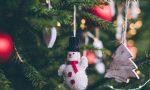 Albero di Natale in piazza con l'housing sociale