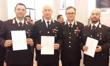 Salvano due persone dal suicidio premiati i carabinieri eroi