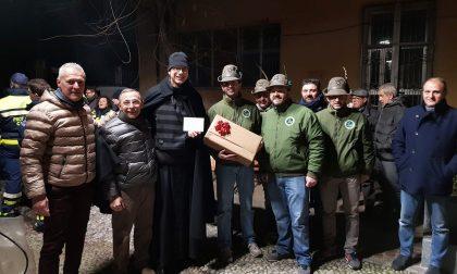 Il Gruppo Alpini regala un Natale di solidarietà