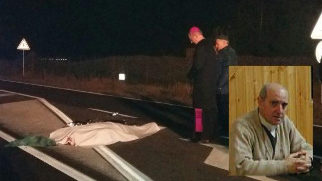 Padre Vito Groppelli investito e ucciso da un&#8217&#x3B;auto FOTO VIDEO