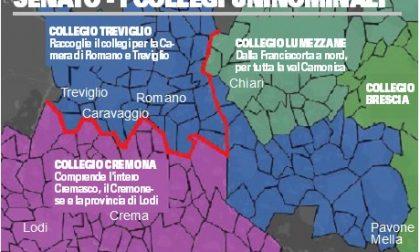 Geografia elettorale, cambiano i collegi