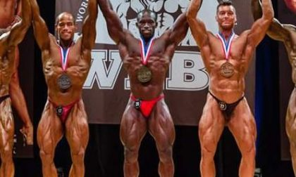 Bodybuilding, Alessandro Manfredi terzo ai mondiali