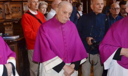 Monsignor Luigi Gerevini è morto a 84 anni lutto a Cassano D'Adda