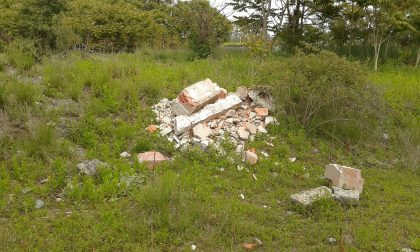 Parco del Serio usato come discarica FOTO