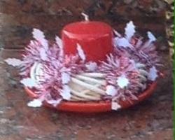 candela rubata al cimitero di Sergnano