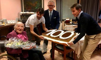 Una vita per l'Hotel Verri, Anna compie 100 anni