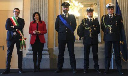 Polizia locale di Spirano premiata a Villa Reale