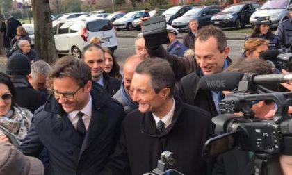 Elezioni Lombardia 2018 la prima uscita di Fontana VIDEO