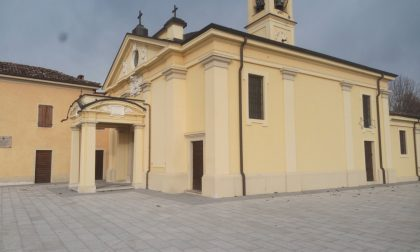 Restauri in Chiesa a Torlino Vimercati