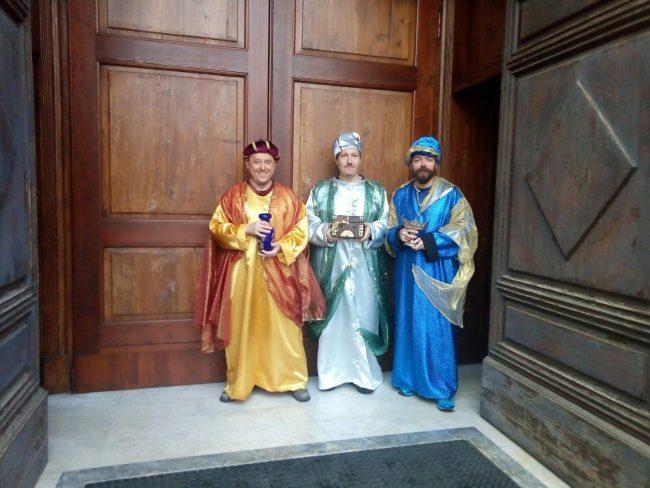 sacra famiglia e re magi