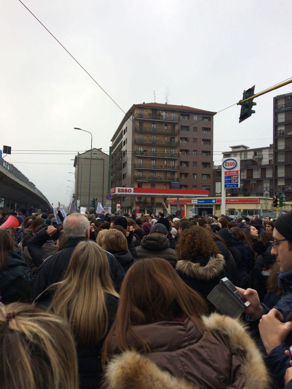 Sciopero scuole protesta dei diplomati magistrali a Milano