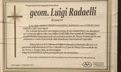 Caravaggio saluta l'ex sindaco Dc, addio a Luigi Radaelli