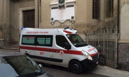 Attimi di paura in via San Martino a Treviglio – Foto