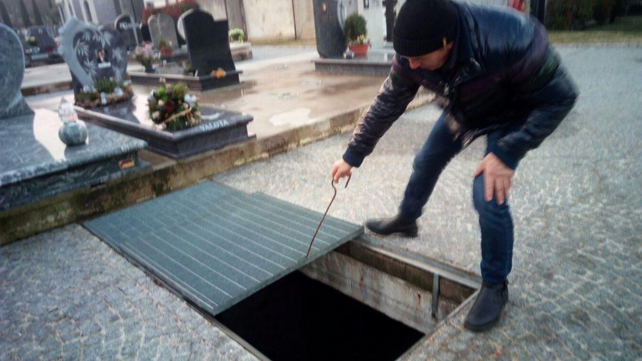 Spirano malore nella tomba