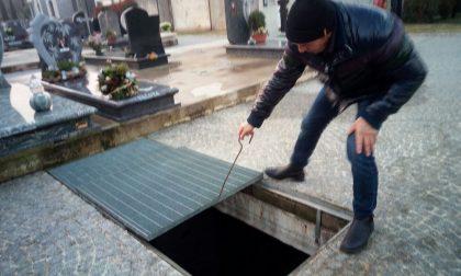 Malore in una fossa del cimitero, addio Pietro Ghidotti FOTO