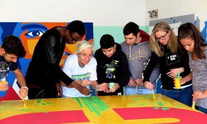 Un murales per festeggiare i 125 anni del Centro Salesiano