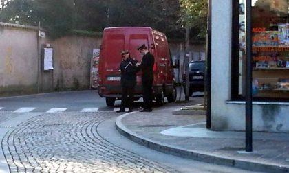 Rapinato furgone di tabacchi diretto a Treviglio