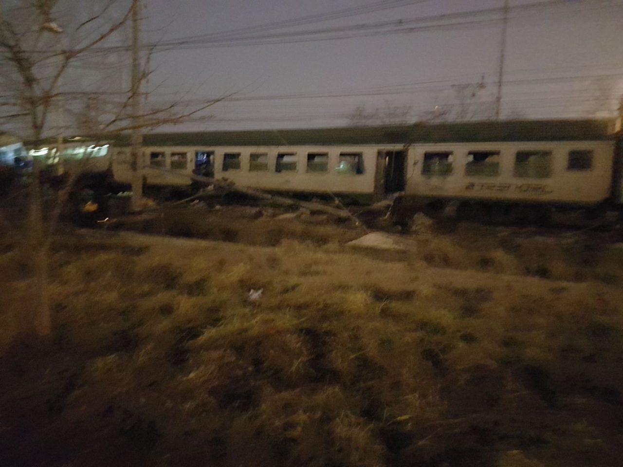 Treno deragliato a Pioltello