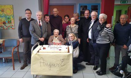 Francesca Gennaro spegne 105 candeline