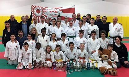 Ku Shi Kan Karate, è pioggia di medaglie a Voghera FOTO