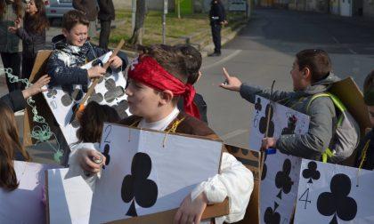 Le maschere invadono Pieranica per il Carnevale FOTO