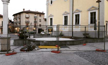 La fontana del centro storico tornerà a funzionare
