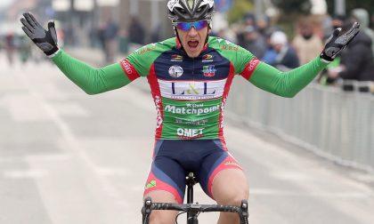 Ciclismo, assolo di Donesana nella Coppa San Bernardino