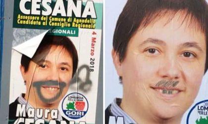 Elezioni regionali, Maura Cesana fa i conti con i vandali