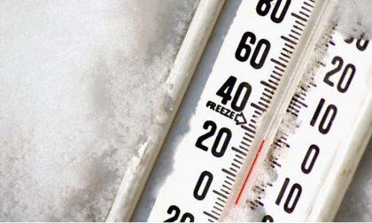 Gelo siberiano a Cremona e Lodi la colonnina a -2 PREVISIONI NEVE