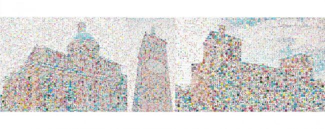 W la scuola, migliaia di iscritti. Guarda i mosaici-simbolo, l&#8217&#x3B;effetto è impressionante