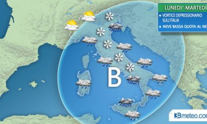 Torna il maltempo sulle regioni italiane