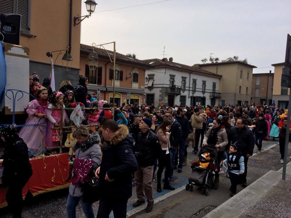 Amici del Carnevale 2018 Caravaggio sfilata