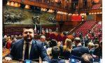 Un selfie da Roma | I parlamentari della Bassa celebrano il debutto in Parlamento