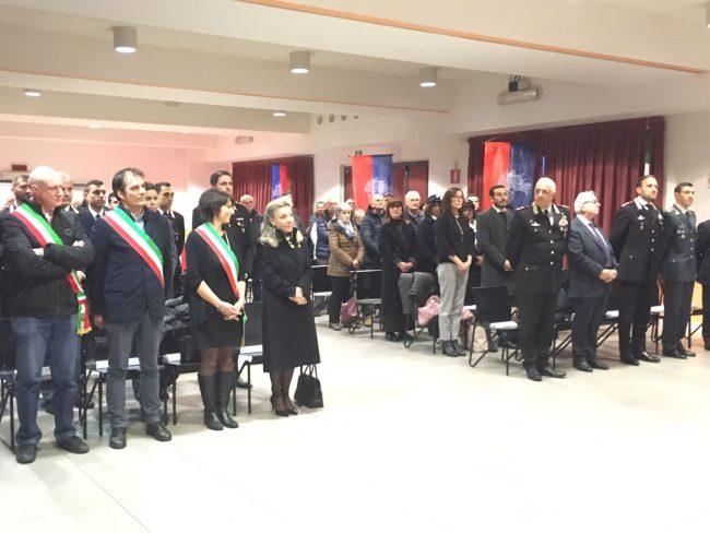 A Ciserano la cerimonia per la cittadinanza onoraria all&#8217&#x3B;Arma VIDEO FOTO