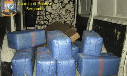 Sequestrati oltre 300 chili di hashish a Verdello e Antegnate