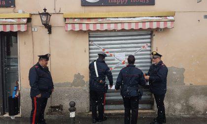 Carenze igieniche, i carabinieri chiudono il Roxy bar a Casirate