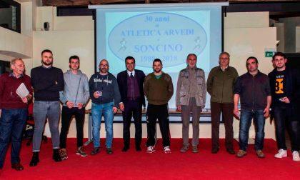 Atletica Arvedi Soncino premia i suoi atleti migliori