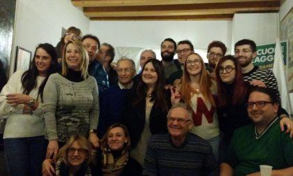 Claudia Gobbato festeggiata dalla segreteria provinciale dei lumbard