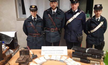 Operazione antidroga: sequestrati 12 kg di cocaina e 114mila euro