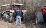 Rubano i trattori e devastano la campagna
