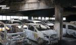 Auto incendiate in aeroporto arrestati i colpevoli VIDEO