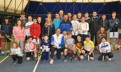 Francesca Schiavone ospite del Tennis Club Crema FOTO